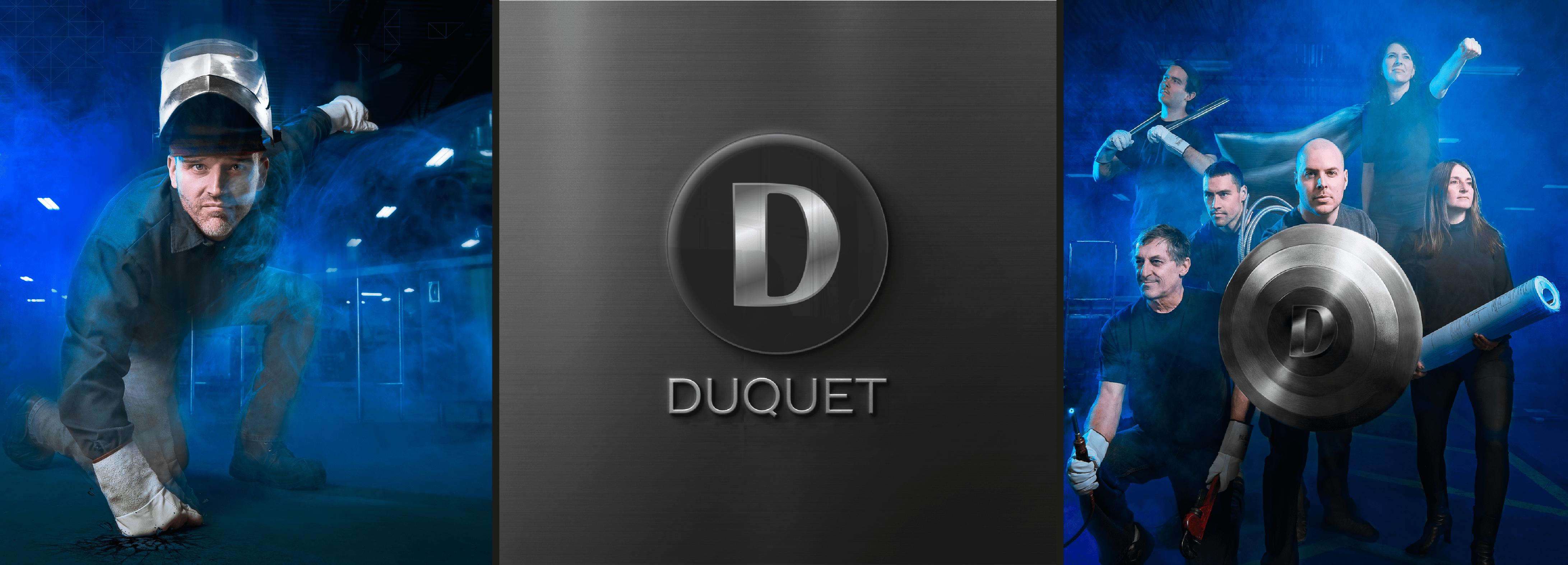 Métal Duquet laisse sa marque et vous transmet sa force pour l'inox